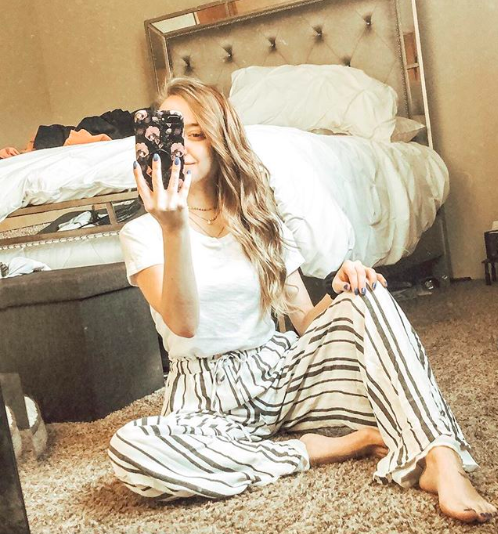 Striped pants  //  tee  //