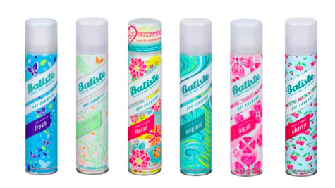 6 pack of dry shampoo for $27- use code: BDBATISTE for an extra $3 off