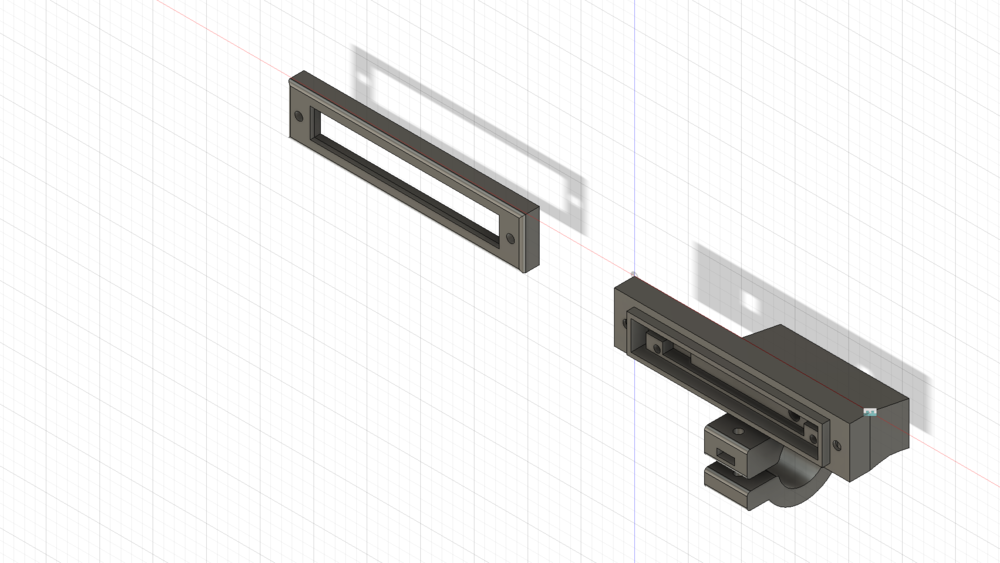 Fusion 360 model of front housing