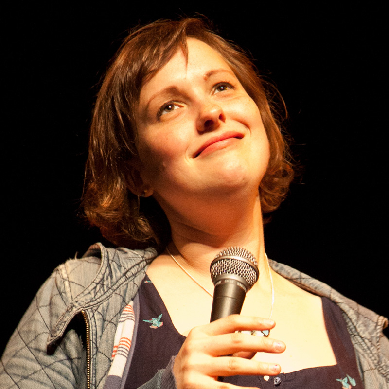 Josie Long - Comedian and writer who really cares about the world. Prides herself on being silly and we love that