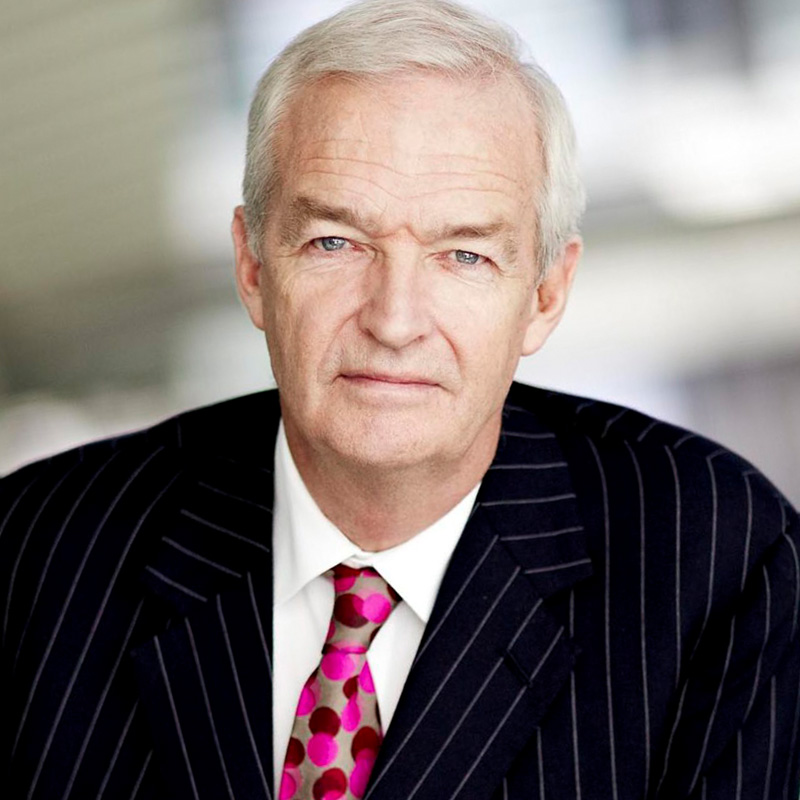 Jon Snow - Channel 4 Journalist, broadcaster, national treasure and multi-coloured tie enthusiast