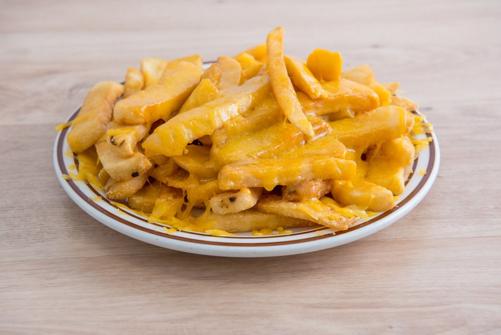 CHEESE FRIES $6