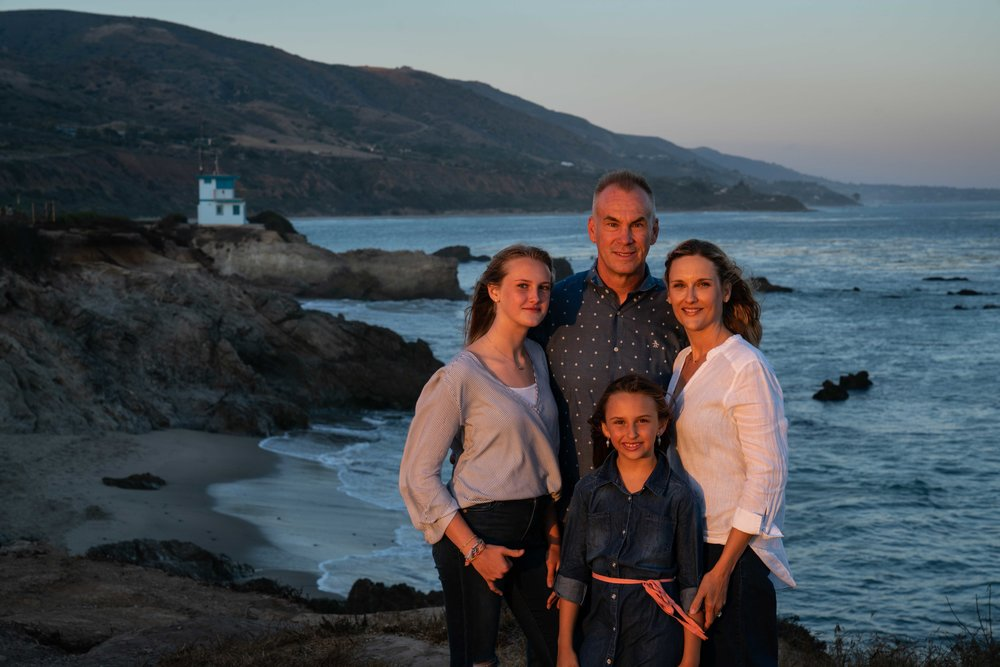 Graham Family in Malibu 2018 1