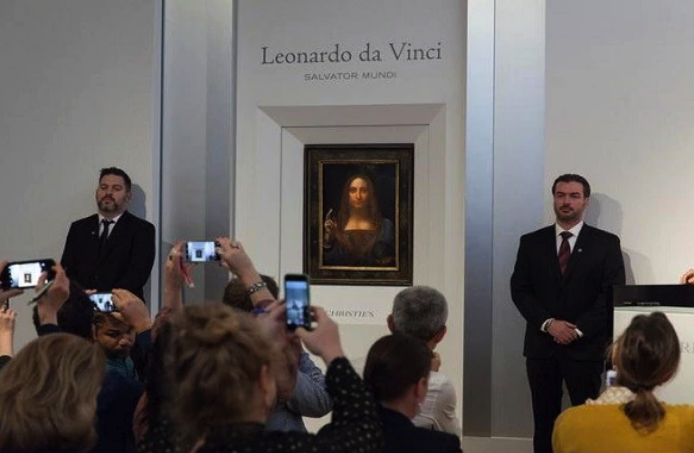 Leonardo Da Vinci's  Salvator Mundi  painting is one of the highest sold on record.