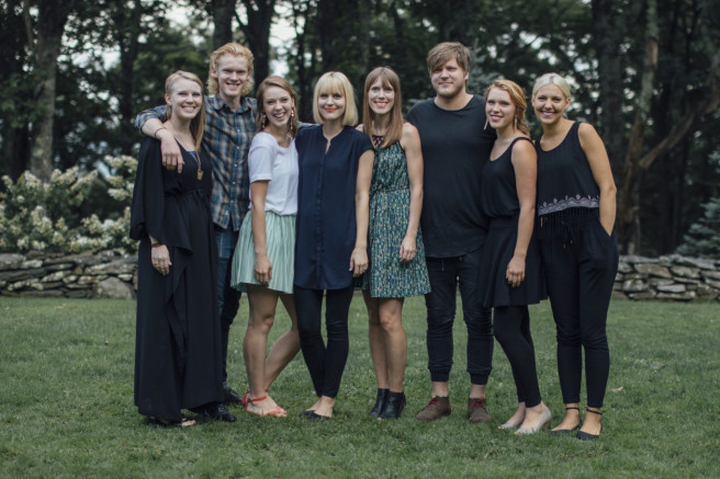 Anderson Siblings: Bethany, James, Maggie, Julie, Allison, Luke, Rachel, and Molly
