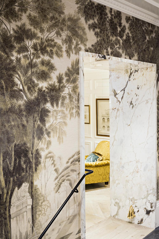 arche-passage-marbre-breccia-capraia-hôtel-Relais-Christine-Omni-Marbres