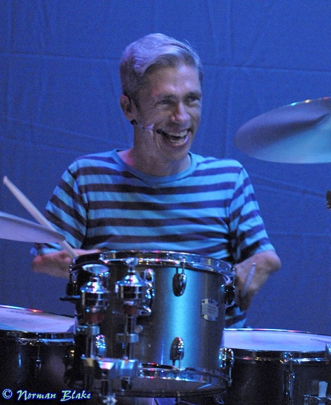"MAT FRASER (Writer, & Drummer) has been a drummer & musician for 35 years, & an actor & writer for over 20 years. ""Jack & The Beanstalk"" is his 4th full stage production as a writer. he has written 2 one man plays, a full musical, completed a stage comedy last year and is ready to write his next play set in the Bowery in 1880. Mat loves being part of the community & making work with Julie, his love & life partner, for Abrons, as ONEOFUS. Mat has drummed with Coldplay, The Meteors, Van Der Graaf Generator, Joyride, Living In Texas, & on screen in American Horror Story: Freak Show, also more recently in Loudermilk as Roger. Mat's band nowadays are The Spazms. Mat is playing a Roland V Drum TD 30 kit for this show."