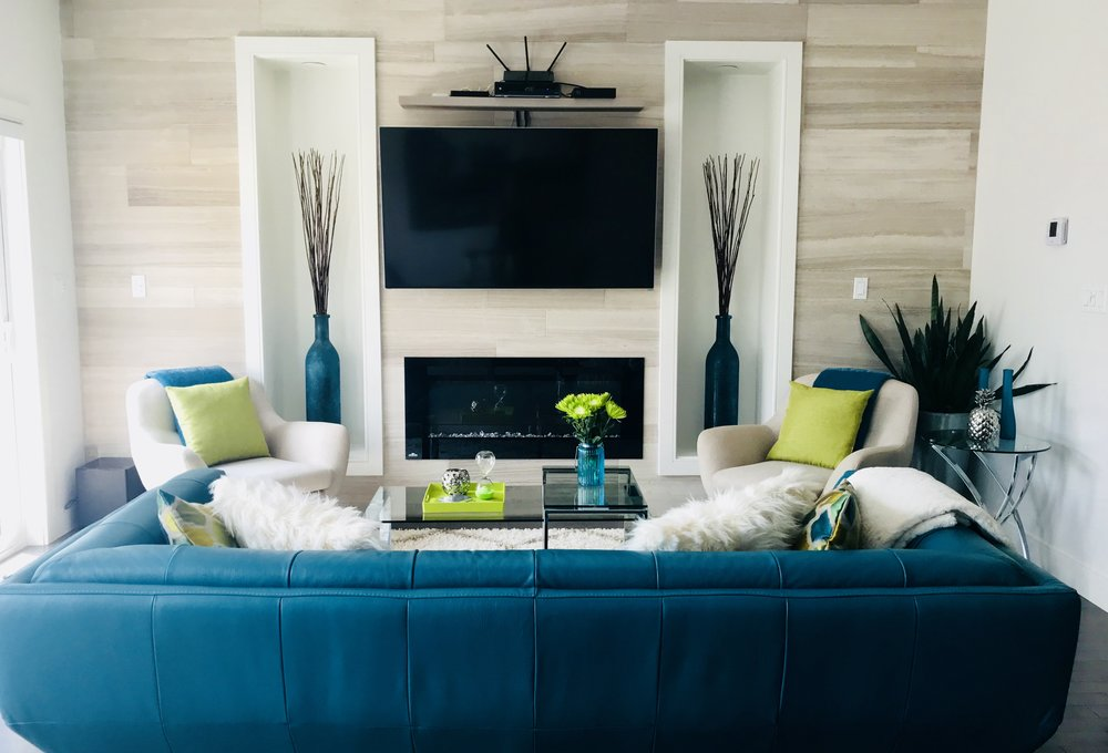 Modern-Minimal-Living Room Design-Style Maven Decor-Edmonton Canada