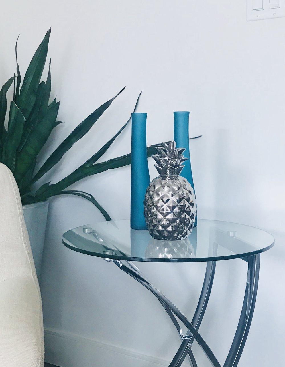 Modern-Minimal-Living Room Design-Cocktail Table-Style Maven Decor-Edmonton Canada