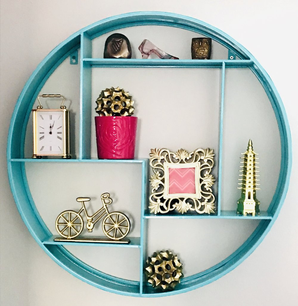 Style Maven Decor-Interior Design-Edmonton-Home Office-Shelf Decor-Organization