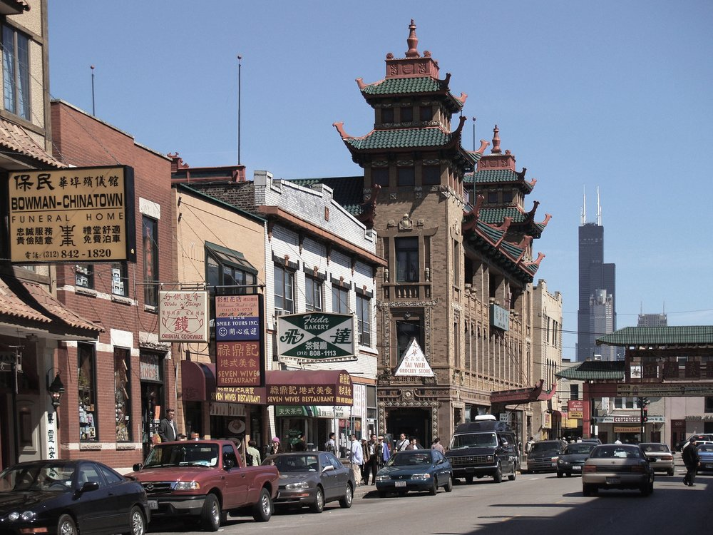 Photo of Chicago's Chinatown by  Marco Forsten .