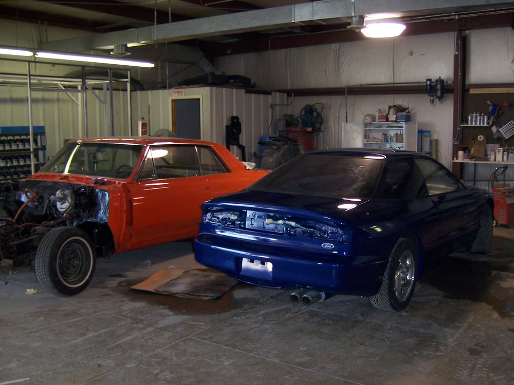 Auto Body Shop  - Queenstown Collision Center.jpg