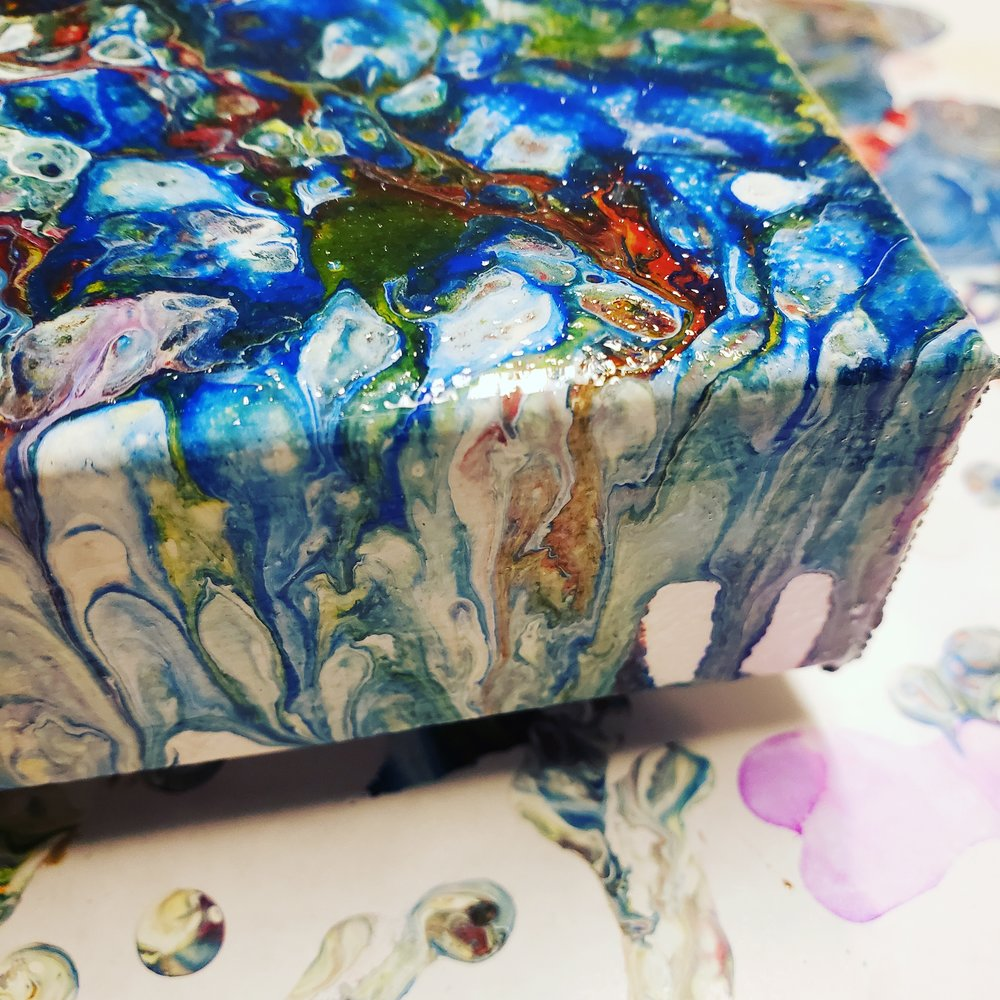 Touchstone Paintings - Energy infused talismanic abstract paintings. Read More
