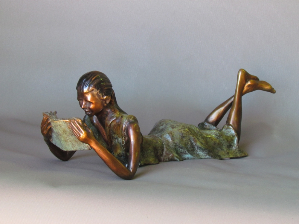 Lady Reading 1