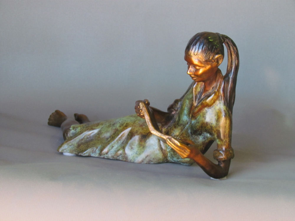 Lady Reading 2