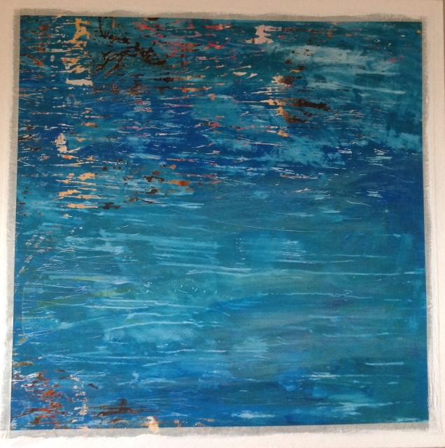 Waterways 150 x 150cm