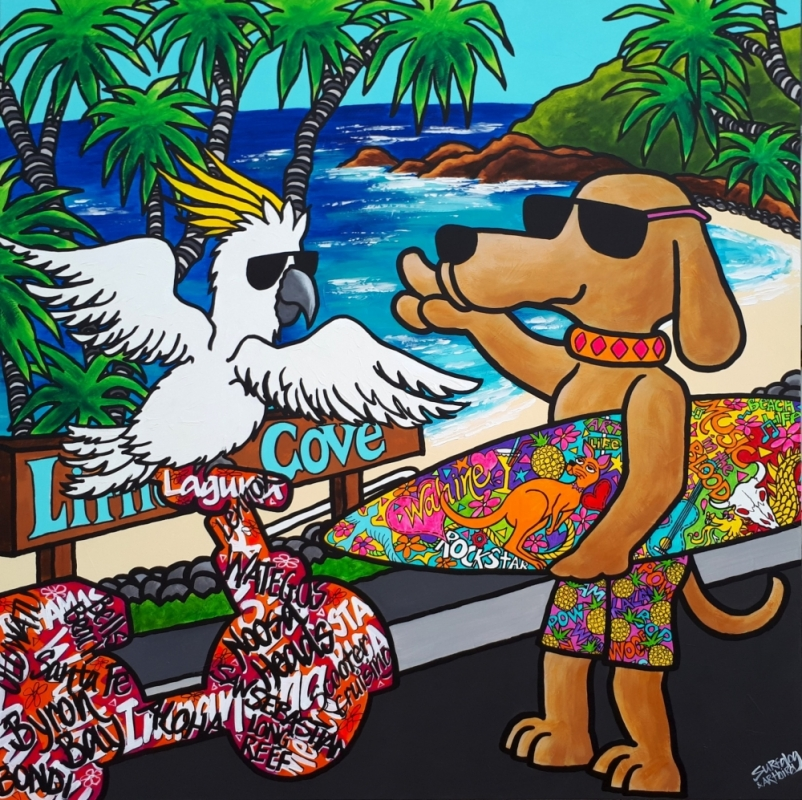 Surfdog & Artbird