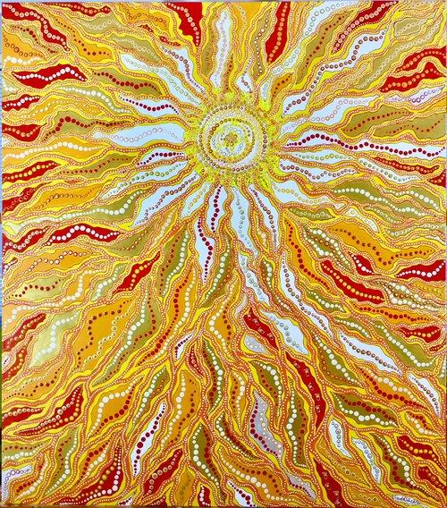 Sacred Spirit 170 x 150 cm