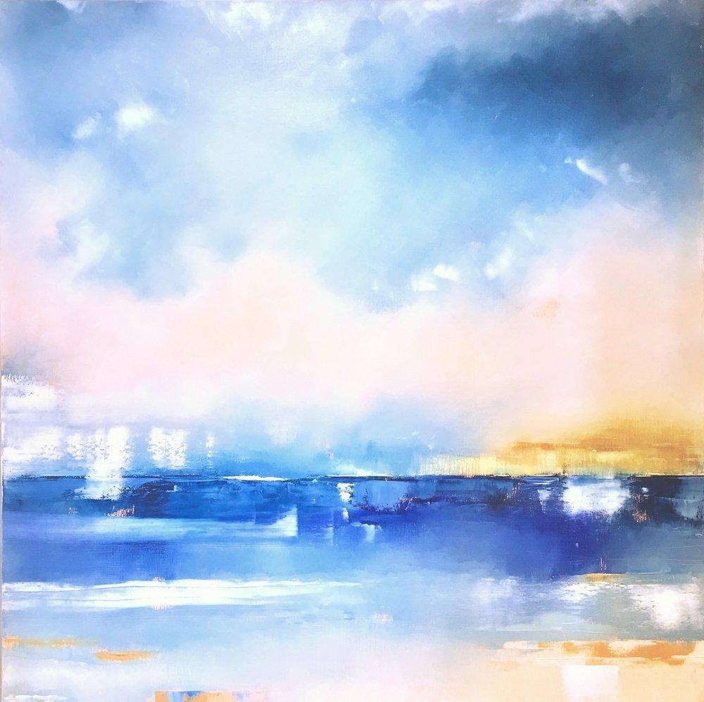 Dorado - oil on canvas 120x120cm