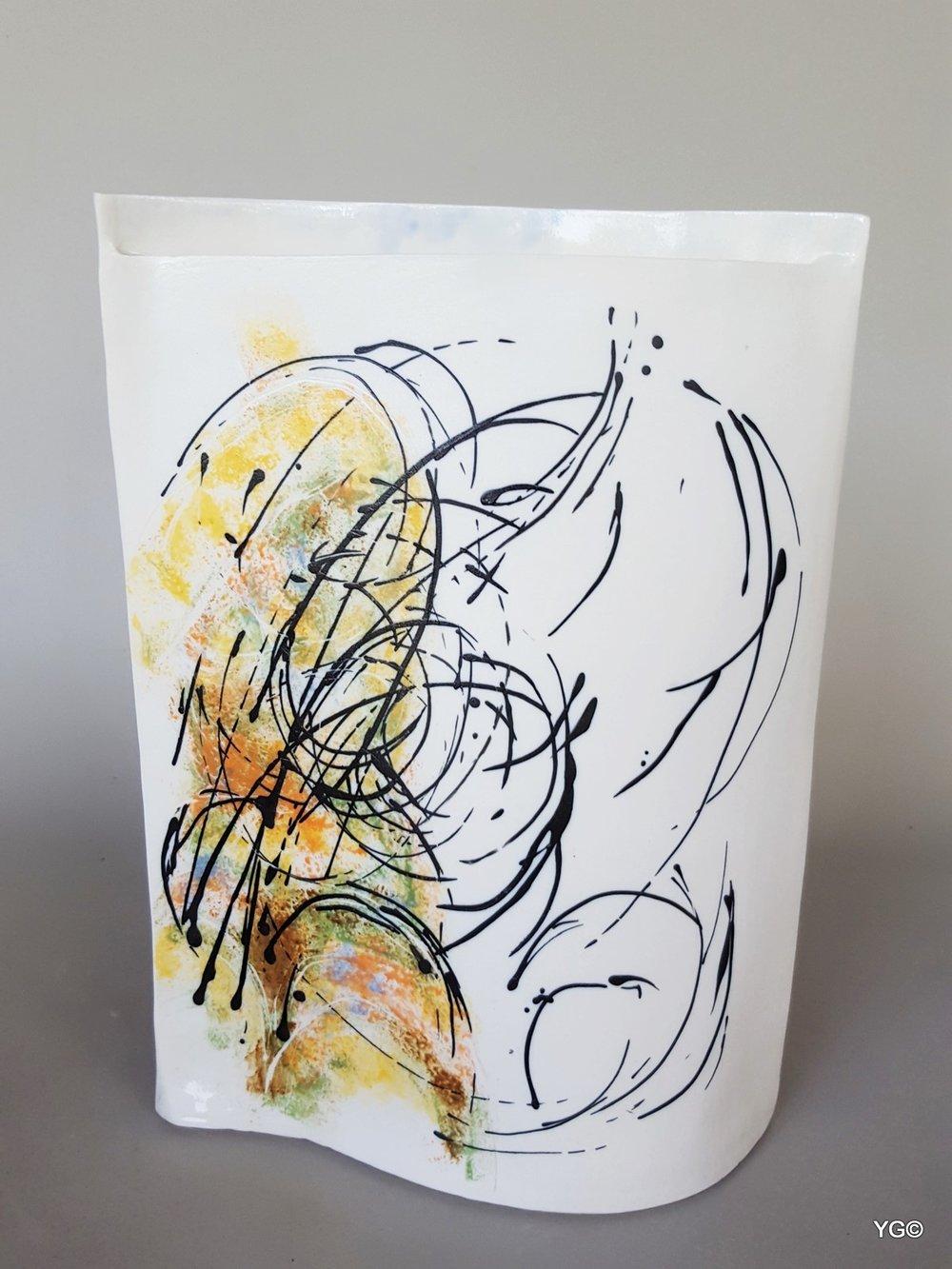 Arabesque 4 - porcelain