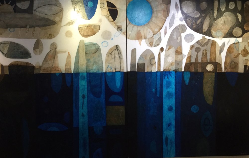 A Long Winter Within 180cm x 90cm x 2