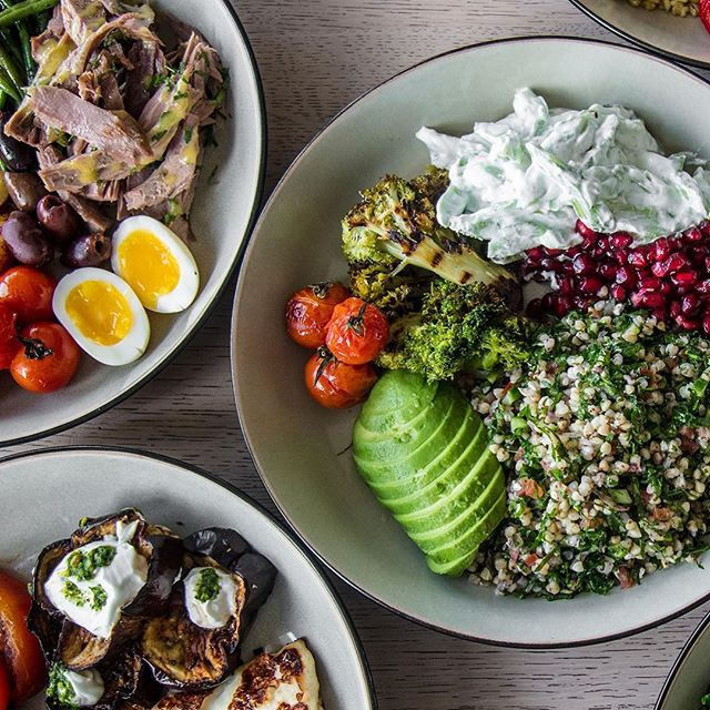 Superfoods for a super you. Our grain bowls have it all!