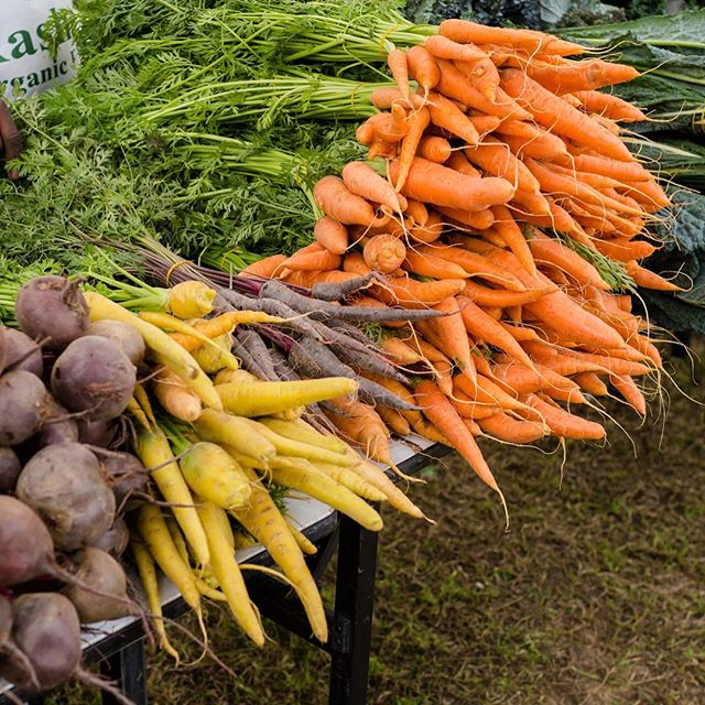The Farmer's Market  Is almost back. See you in November.
