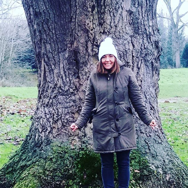 At the base of the historic and magical Tulip Tree...