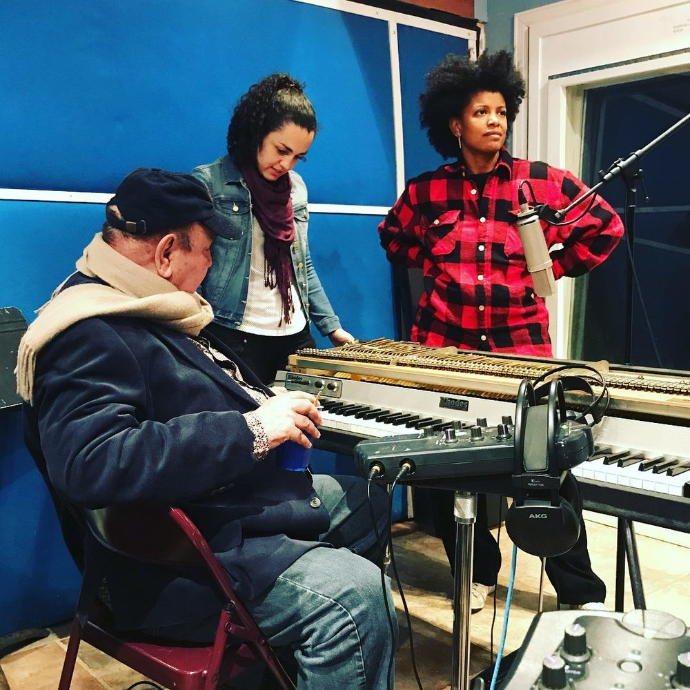 Recording Session with João Donato and Thalma de Freitas