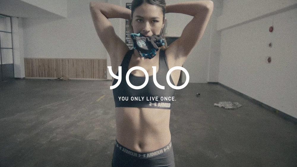 YOLO MAGAZINE featuring SHELL