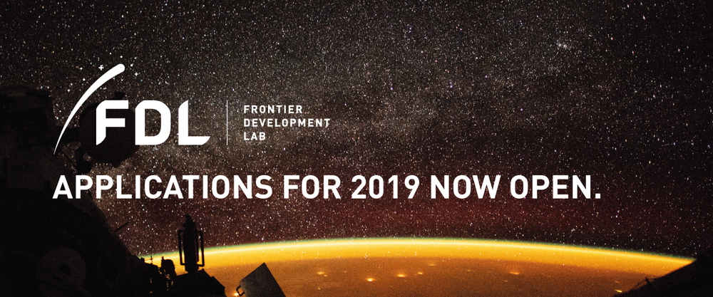 FDL 2019 Applications Open Banner