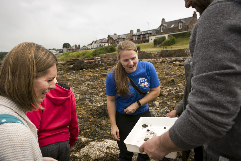 Jenny Stark of COAST gives expert advice on marine life to be found in the rockpools