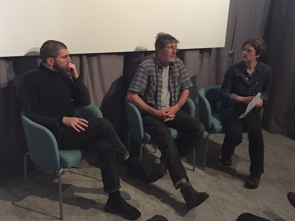 Post-screening Q&A with Ed Webb-Ingall, Andy Mackinnon and Shona Thomson