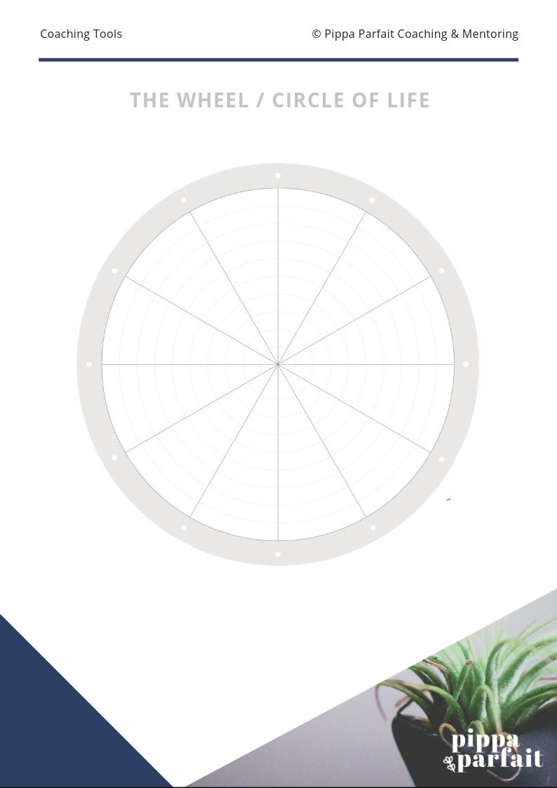 Blank Wheel of Life