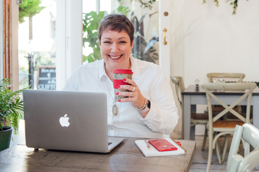 """go THROUGH TO MY CALENDAR TO BOOK A FREE CALL - Find out what it's like to coach with me, see if we """"click"""" and ask all your burning questions about working with a coach. It's a zero commitment call and no yucky sales tactics."""