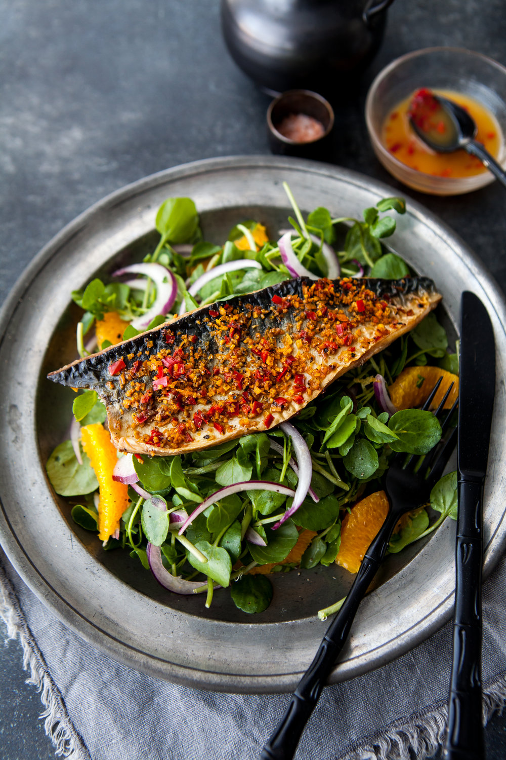 Grilled Mackerel & Watercress Salad with Orange  & Chilli 3.jpg