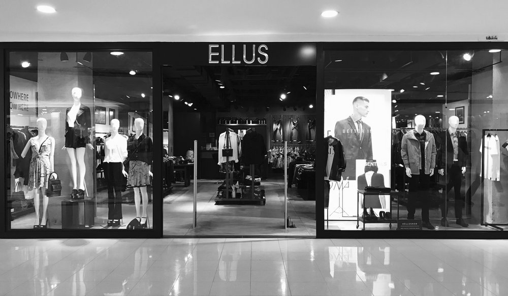 One of the 42 stores of Ellus