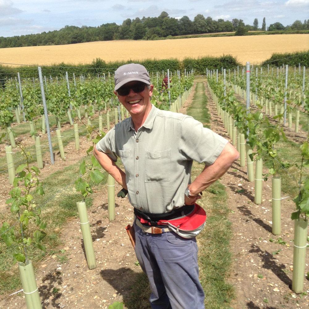 6 Christopher in the vineyard .JPG