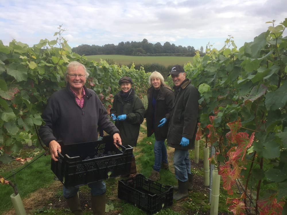 Robert and his happy pickers