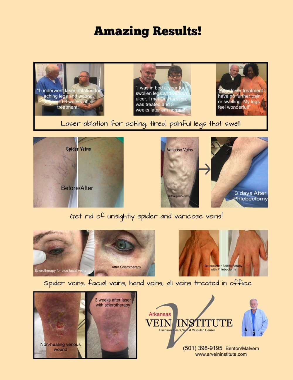 We offer an array of cosmetic services. Call for free appointment -