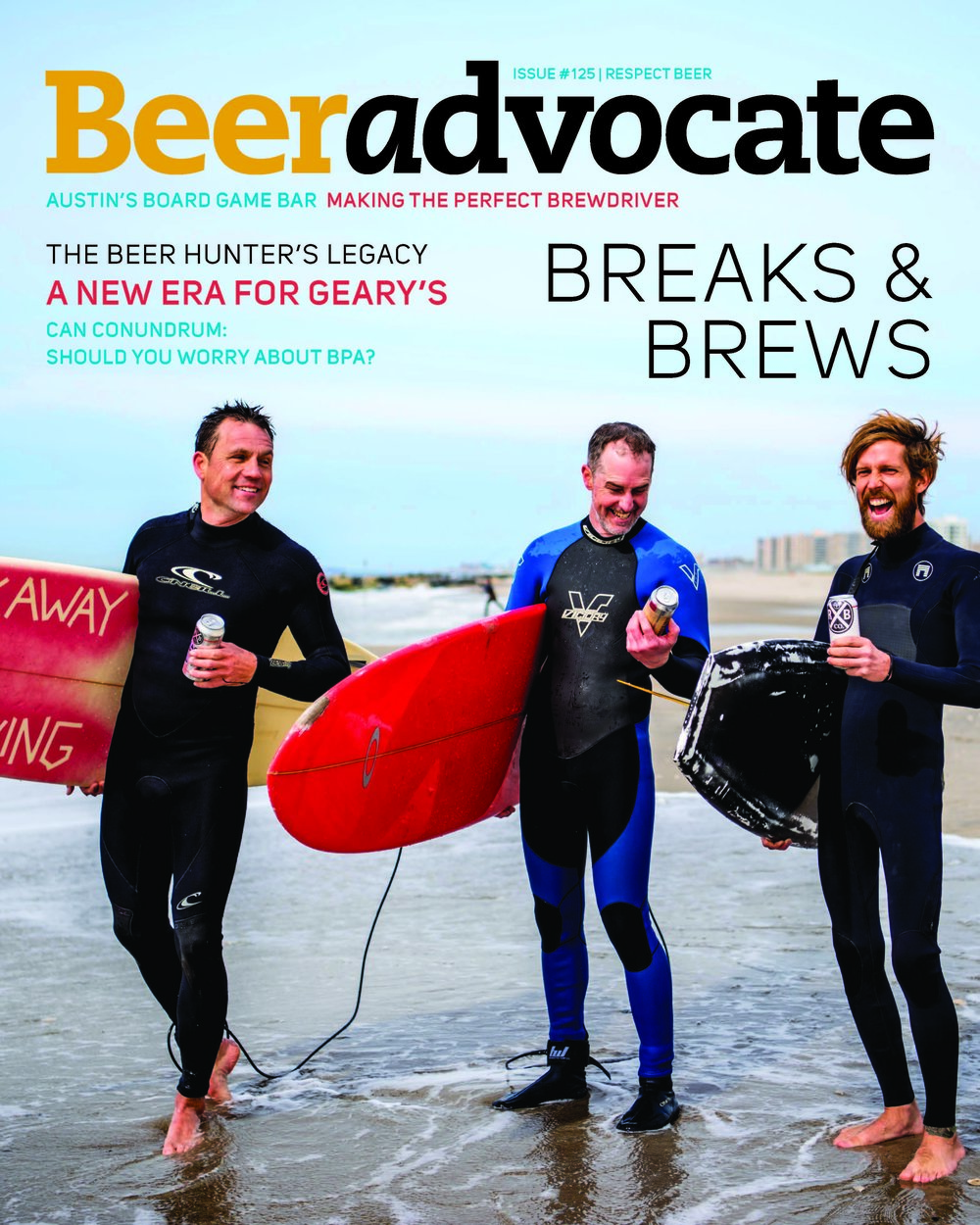 Beer Advocate Issue 125