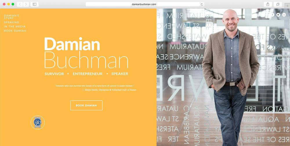 <strong>Damian Buchman</strong><p>Website Design, Logo Design & Photo Editing</p>