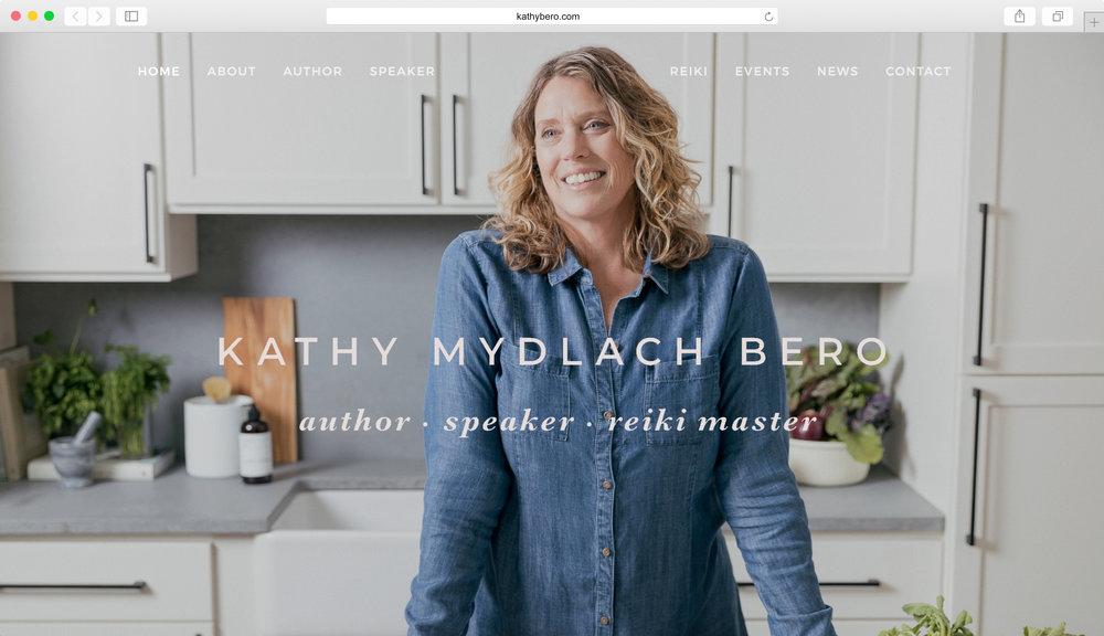 <strong>Kathy Mydlach Bero</strong><p>Website Design, Graphic Design & Photo Editing</p>
