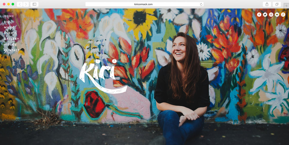 <strong>Kiri Cormack</strong><p>Website Design, Logo Design & Photo Editing</p>