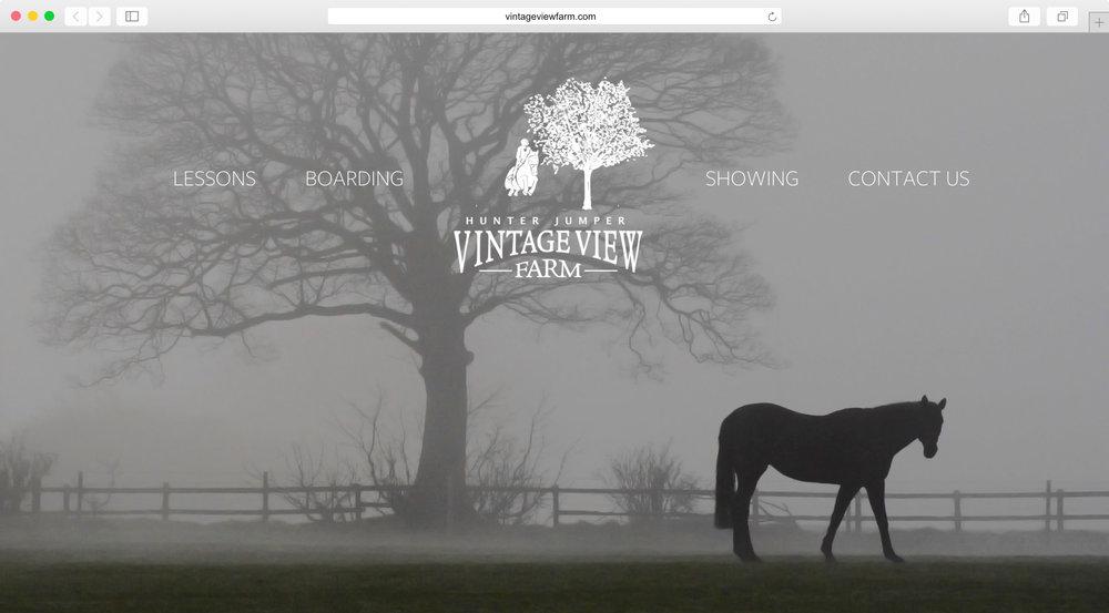 <strong>Vintage View Farms</strong><p>Website Design, Logo Design, Photography & Copywriting</p>