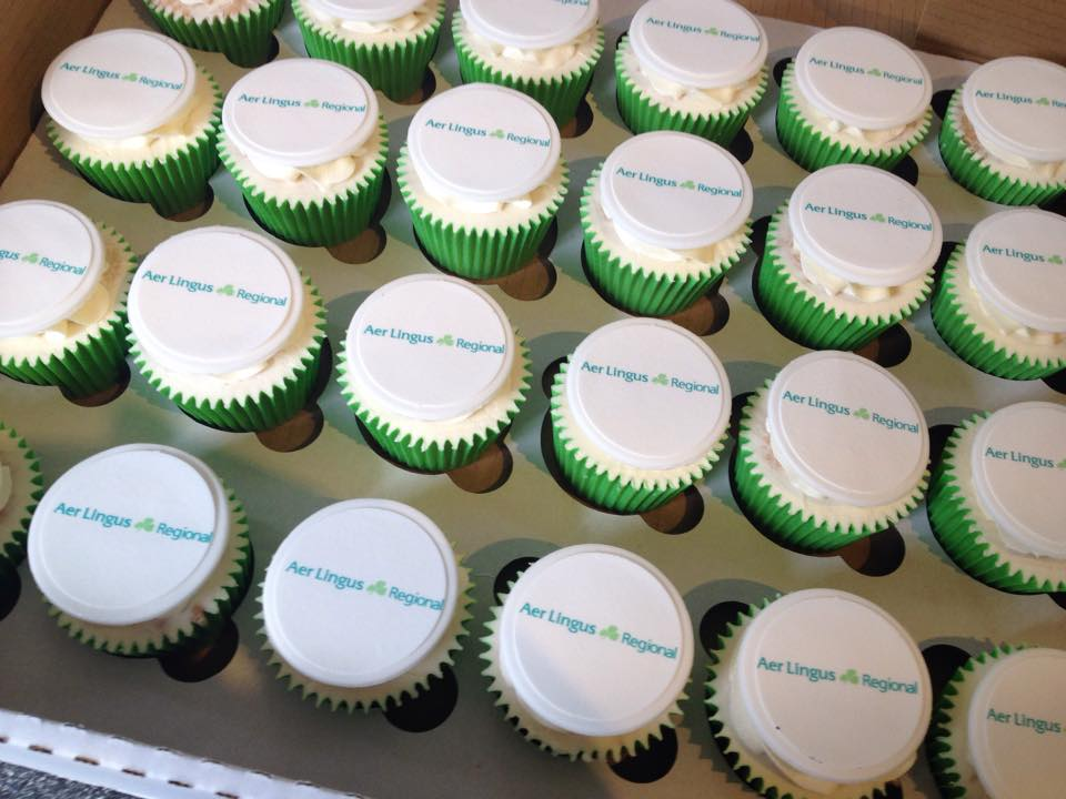 Corporate Cupcakes - Branded Cupcakes - Event Cupcakes - Logo Cupcakes