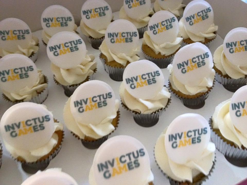 Invictus Games Logo Cupcakes