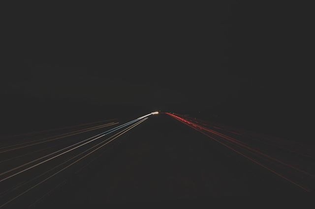 Drivers definitely thought I was a cop on the overpass . . . . #lights #streaks #longexposure #highway #darkness #light #red #white #lines #urban #photography #lightroom #canon #photoshop #shutterspeed #fast #cars #night #lines #landscape #converge #abstract #blue #city #unsplash #road #exposure #motorway #fast #hamont