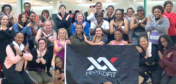 Here we are after a MixxedFit training!