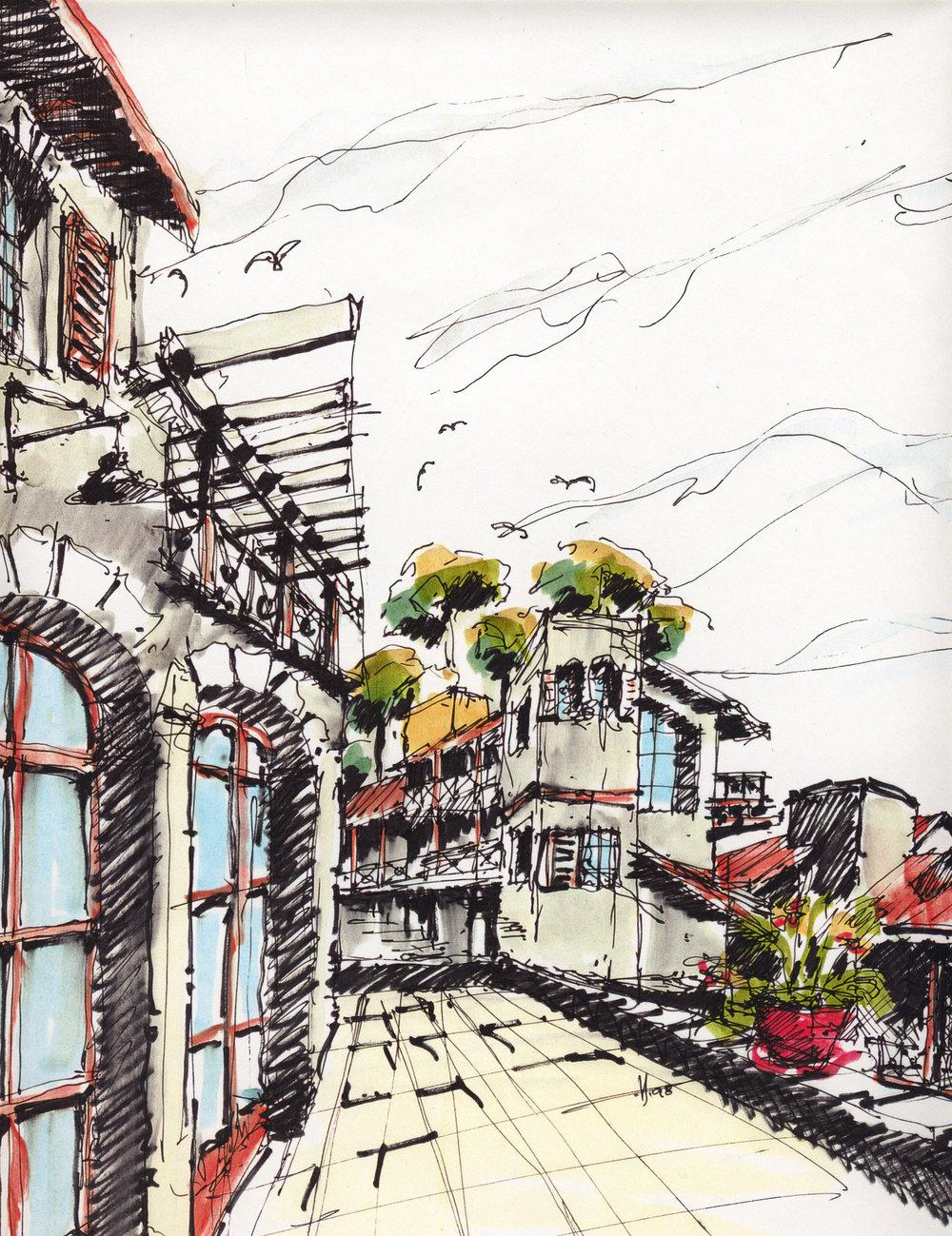 Residential Terrace